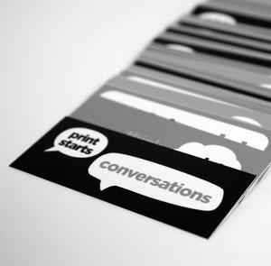 Conversation in Print
