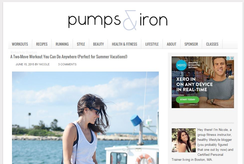 pumps & iron